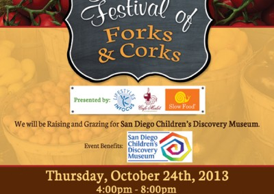 Forks and Corks Flyer 2013